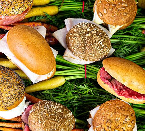 Heerlijke gezonde belegde broodjes uit eigen keuken